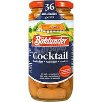 Boklunder Salchicha cocktail Frasco 250 g