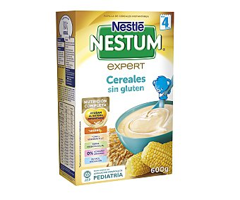 Nestum Nestlé Papilla de cereales sin gluten, a partir de 4 meses 600 gr