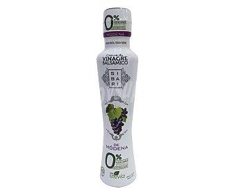 Sibari Crema de vinagre de Módena con stevia 225 g