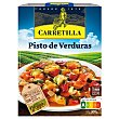 Pisto de verduras sin gluten Estuche 240 g Carretilla