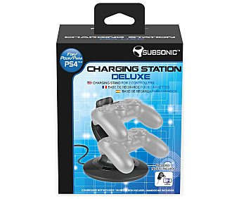 SUBSONIC Base de Carga para Mandos de Playstation 4 1 Unidad