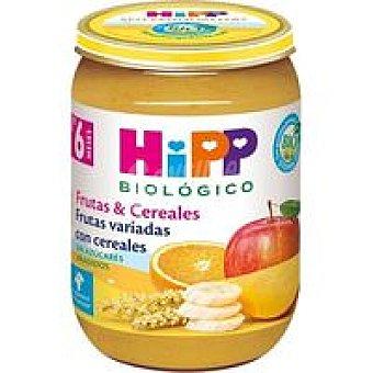 HiPP Biológico Potito de frutas variadas con cereales Tarro 190 g