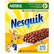 Barritas de cereales nesquik Estuche 150 gr Nestlé