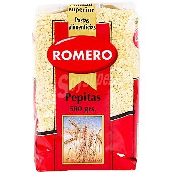 Romero Pasta para sopa pepitas Paquete 500 g