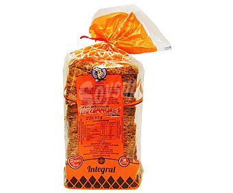 Los Compadres Pan de Molde Especial Integral 315 Gramos