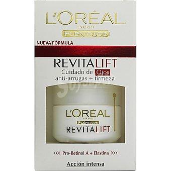 Dermo Expertise L'Oréal Paris Contorno de ojos Revitalift anti-arrugas tarro 15 ml Tarro 15 ml