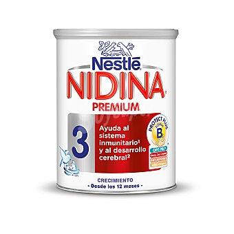 Nidina Nestlé Leche de continuación Premium 3 Lata 800 g