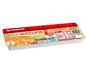 La Cocinera Masa Quebrada Extendida 500 Gramos