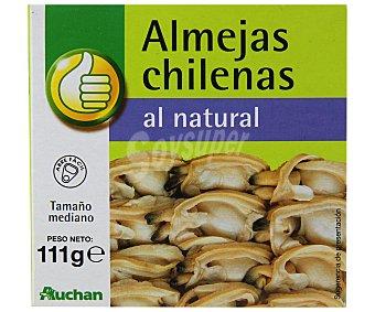 Productos Económicos Alcampo Conserva de almejas chilenas al natural Lata de 63 grs