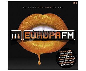 Europa Fm El mejor pop rock de hoy 2015 2Cds 1 Unidad
