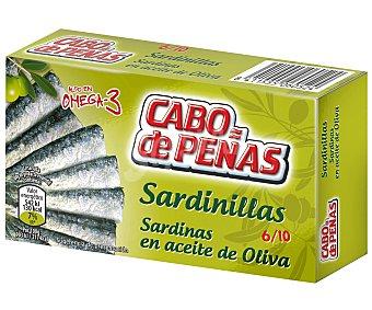 Cabo de Peñas Sardinillas en aceite de oliva Lata de 60 g neto escurrido