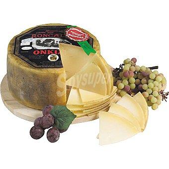 Onkizu Queso de leche cruda de oveja D.O. Roncal  3 kg (peso aproximado pieza)