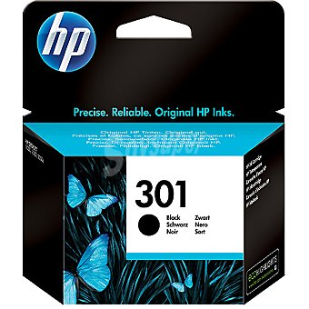 HP Nº 301 cartucho de tinta color negro
