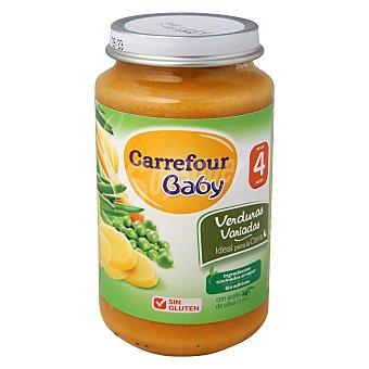 Carrefour Baby Tarrito de verduras variadas 250 g