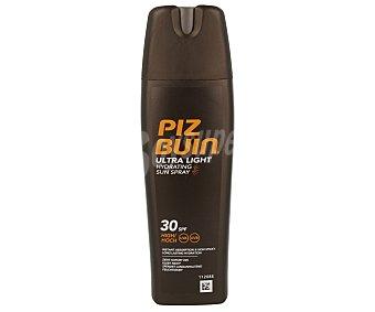 PIZ BUIN Loción solar hidratante ultra light con factor protección 30 (alta) 200 ml
