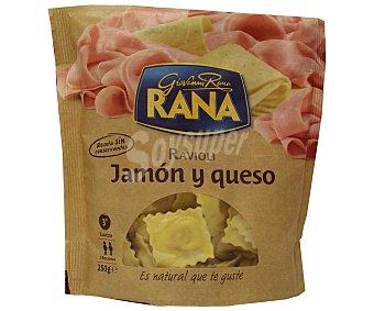 GIOVANNI RANA Ravioli jamón y queso Envase 250 g
