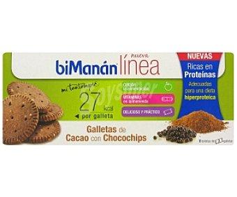 Bimanan Galleta cacao hiperproteica 150 Gramos