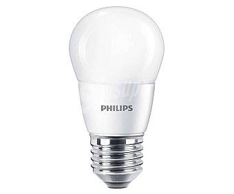 Philips Bombilla led esférica 7W E27 luz blanca fría