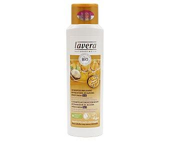 Lavera Naturkosmetik Champú y acondicionador con aceite de almendras y nueces bio, para cabellos muy secos y dañados 250 ml