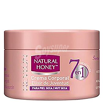 Natural Honey Crema corporal para piel seca con elixir de Juventud 250 ml