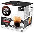 Café en monodosis descafeinadao espresso 16 uds. 112 gr Dolce Gusto Nescafé