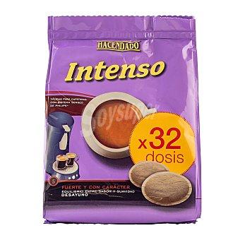 Hacendado Cafe capsula (compatible con cafetera sistema senseo) intenso Paquete 32 u