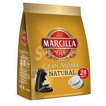 Marcilla Café Molido de Tueste Natural 28 Monodosis (194 g)