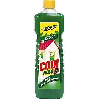 CODI Limpiador multiusos higienizante aroma pino Botella 1 l