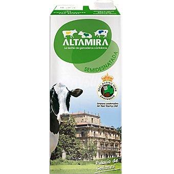 Altamira Leche Semidesnatada Brik 1 litro