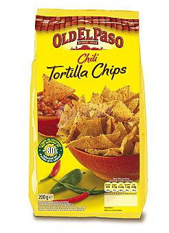 Old El Paso Tortilla chips con chili 200 g