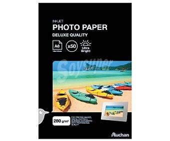 Auchan Papel Foto High Glossy A6 280 Gramos 280 Gramos