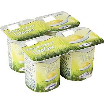 Celgan Yogur sabor limón pack 4 unds. 125 g Pack 4 un