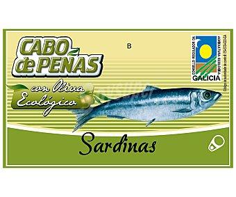 Cabo de Peñas Sardinas en aceite de oliva virgen extra ecológicas 84 gramos