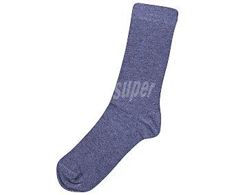 In Extenso Pack de 3 pares de calcetines de antipresión para niño, color gris, talla 27/30 Pack de 3