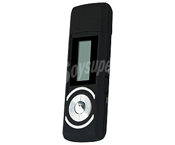 AUCHAN MP-0071 Reproductor MP3 2GB color negro
