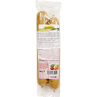Granovita Salchicha vegetal de verduras Pack 2 bolsa 200 g