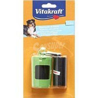 For You Vitakraft Dispensador bolsitas recogida excrementos para perros Blister 40 uds
