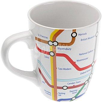 QUO Taza Gres metro Londres 1 Unidad