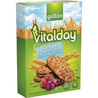 Gullón Galleta de 5 cereales con frutos rojos Caja 240 g