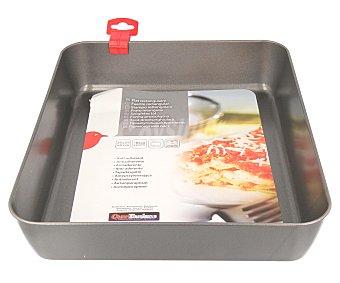Auchan Recipiente rectangular metálico para horno, 31x19x6 centímetros 1 Unidad