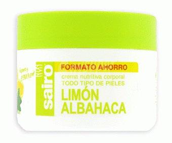 Sairo Crema Corporal Limón Albahaca 300ml