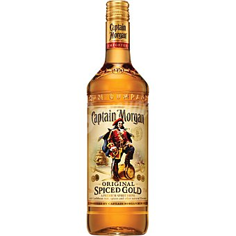 Captain Morgan Bebida original volumen de alcóhol 35-37º  Spiced Gold Botella de 1 l