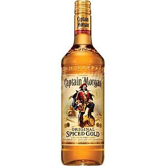 Captain Morgan Bebida original volumen de alcóhol 35-37º  Spiced Gold Botella de 1 l