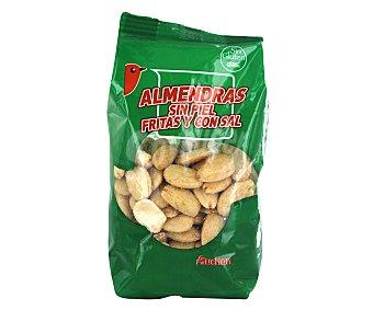 Auchan Almendras fritas peladas y saladas Bolsa de 200 gramos