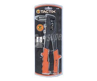 TACTIX Remachadora Profesional 4 en 1 Utilizada tanto en Procesos Industriales como en Trabajos Auxiliares y Domésticos 1 Unidad
