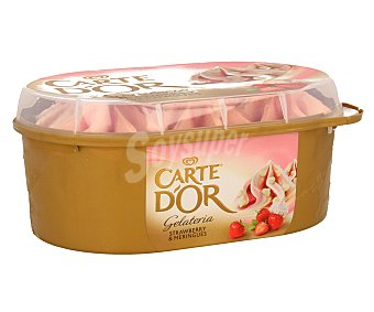 CARTE D´OR Helado de merengue y fresas 900 ml
