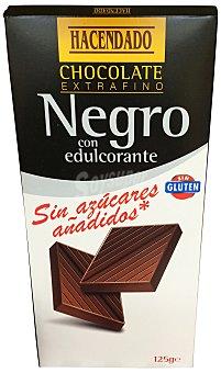 Hacendado Chocolate negro sin azúcar Tableta 125 g