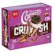 Crush helado cono nata & cookies XXL Caja 4 uds 240 gr Cornetto Frigo