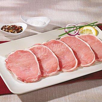 Carrefour Cinta de lomo de cerdo fileteada Bandeja de 800.0 g.