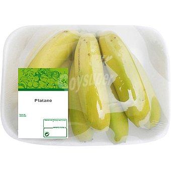 Plátanos de Canarias  Bandeja 1 kg peso aproximado